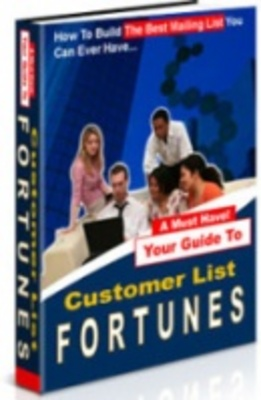Product picture Customer List Fortunes -  Instant Paying List Customers!