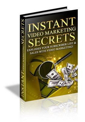 Product picture Instant Video Marketing - Make Money Online With Videos!
